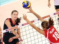 Christiane Fürst Volleyball-EM Frauen Deutschland Kroatien