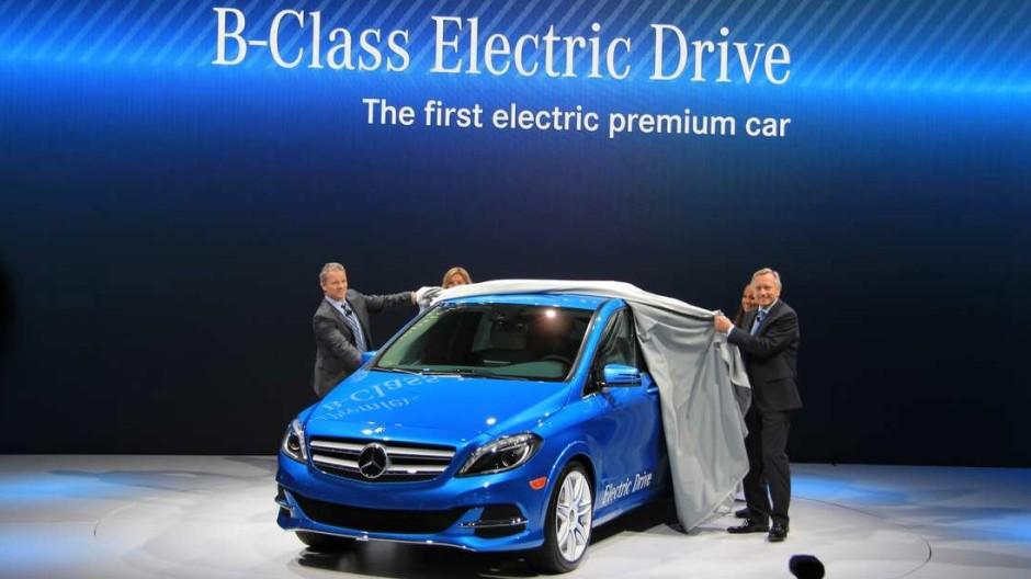 IAA, IAA 2013, B-Klasse, Mercedes, Mercedes-Benz, Electric Drive