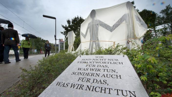 Denkmal erinnert an Dominik Brunner