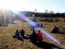 Frühlingssonne im Görlitzer Park