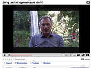 Münchner Politiker im Netz; screenshot: youtube.com