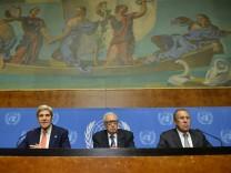 Tripartite meeting on Syria at UN in Geneva