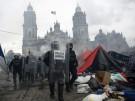 Auflösung von Protestcamp in Mexiko-Stadt