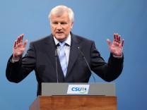 Landtagswahl - Schlusskundgebung der CSU
