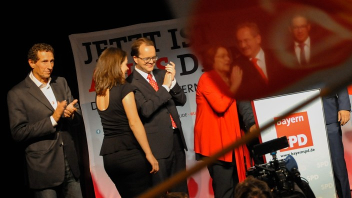 Landtagswahl Bayern Wahl CSU SPD Horst Seehofer Christian Ude Wahlergebnisse