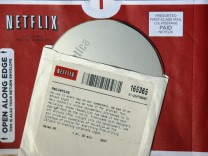 File photo of DVD rental from Netflix
