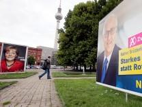 Plakataktion Zweitstimme für die FDP