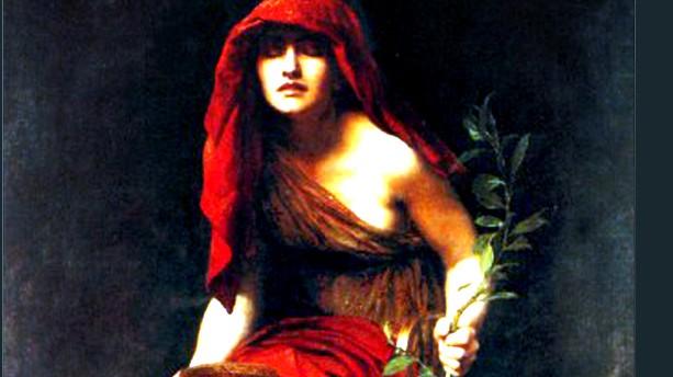 John Collier (1850-1934): Priestess of Delphi