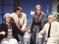 """ZDF-Sendung """"Das literarische Quartett"""" mit Marcel Reich-Ranicki"""