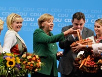 Angela Merkel CDU Hamburg Bundestagswahl