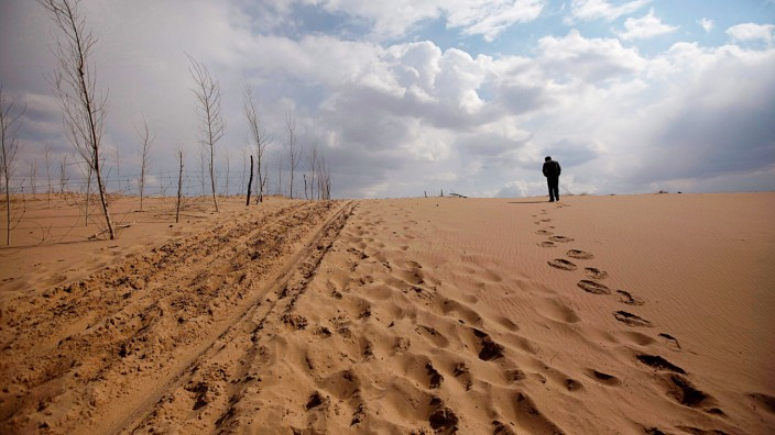 Klima - Wüstenbildung in China