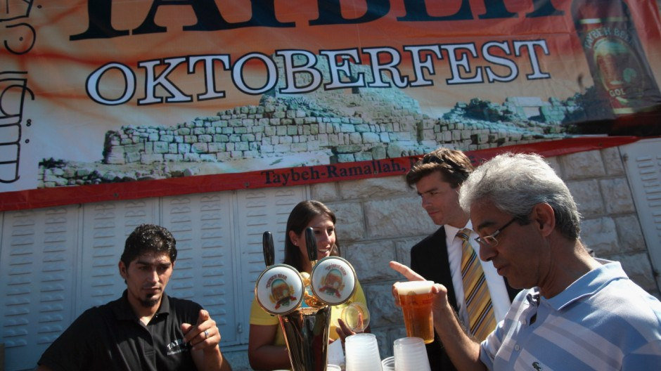 Palestinian Brewery Hosts West Bank Oktoberfest
