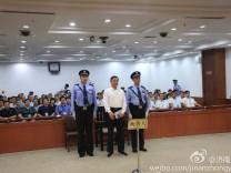 Chinas Spitzenpolitiker Bo Xilai vor Gericht