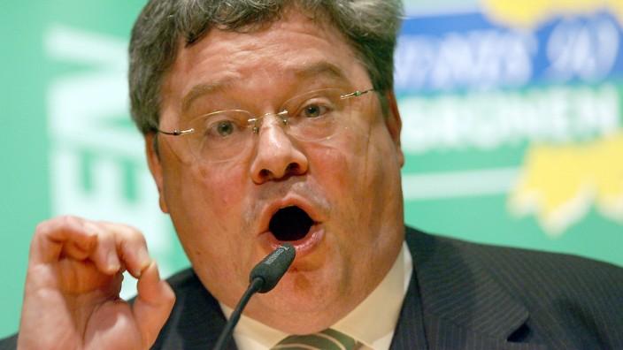 Bundestagswahlkampf Bundestagswahl Bütikofer Trittin