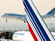 Air France Rauch in der Kabine, AP