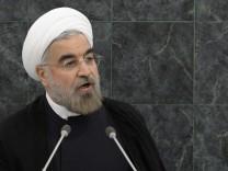 Iran Hassan Rohani Vereinte Nationen