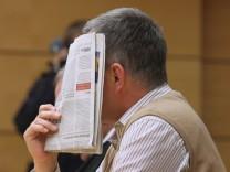 Pfarrer wegen Kindesmissbrauchs vor Gericht in Würzburg.