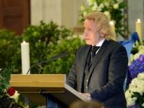 Trauerfeier für Marcel Reich-Ranicki