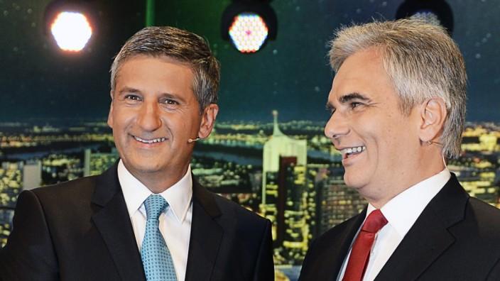AUSTRIA  ELECTION TV DEBATE