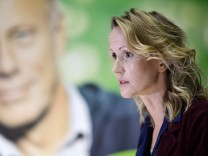 Grüne stellen Wahlplakate zum Wahlkampf-Endspurt vor
