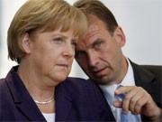 Merkel, Althaus, rtr