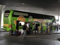 Zentraler Omnibusbahnhof in München, 2013.