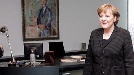 Angela Merkel Büro Adenauer Reuters