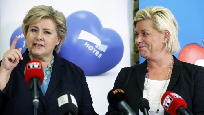 Norway to get right-leaning government