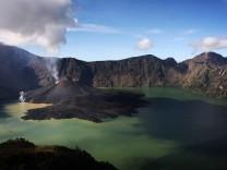 Vulkankrater auf der indonesischen Insel Lombok