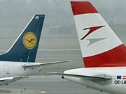 Lufthansa, Austrian Airlines; AP
