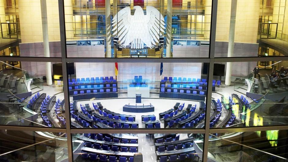 Parlamentarismus Desinteresse der Deutschen am Bundestag