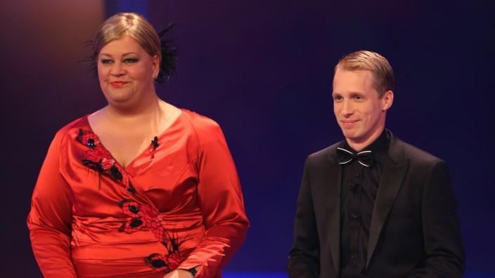 Cindy aus Marzahn und Oliver Pocher Deutscher Fernsehpreis