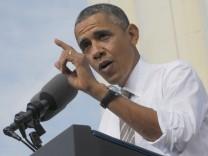US-Präsident Obama Haushaltsstreit
