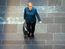 Sondierungsgespräche Angela Merkel