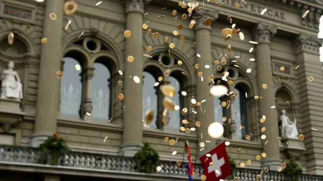 Bedingungsloses Grundeinkommen, Schweiz