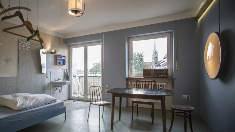 Ein anderes Zimmer im Grandhotel Cosmopolis Augsburg.
