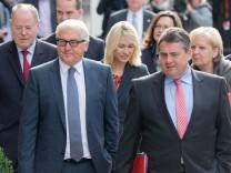 Sondierungsgespräche - Union und SPD