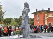 Possenhofen Sisi Skulptur