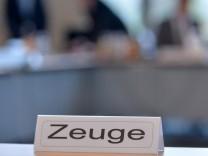 NSU Untersuchungsausschuss Thüringen