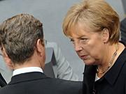 Merkel Westerwelle dpa