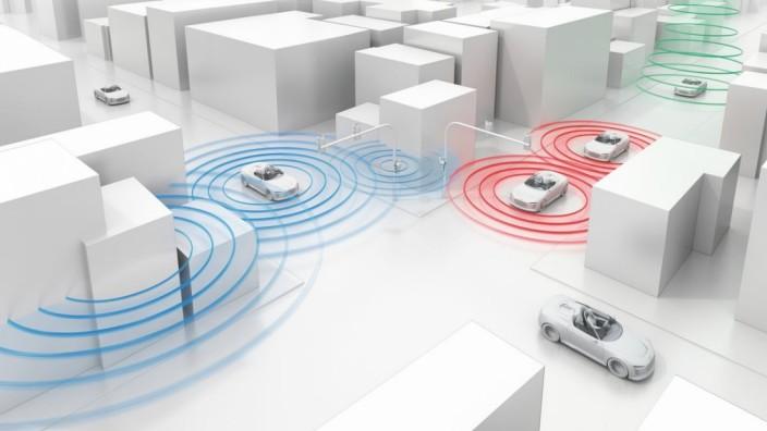 Audi connect, Mobilität, Vernetztes Fahren