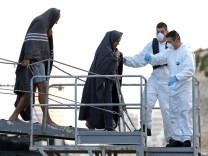 Flüchtlingsdrama Lampedusa Flüchtlinge Malta Valletta