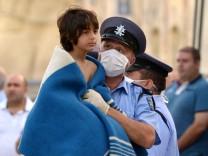 Flüchtlingskatastrophe Flüchtlinge Lampedusa Italien Malta