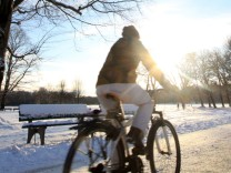 Winter im Englischen Garten, Winter, Fahrrad, Ratgeber