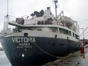Schiff Victoria, Reuters