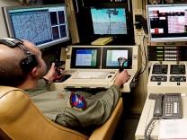 Operationszentrum für Drohnen in der Holloman Air Force Base, New Mexico