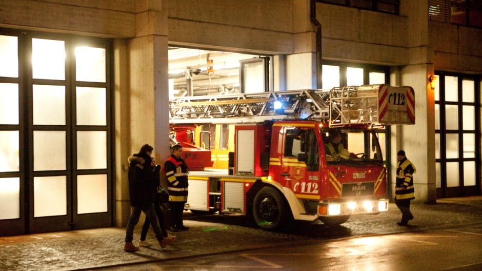 Anfahrtsprobe der Münchner Feuerwehr, 2013