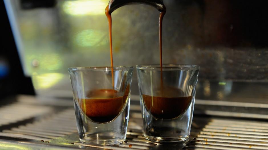 """Nimm einen, zahl zwei: """"Suspended Coffee""""."""