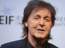Musician Paul McCartney attends The Shakespeare Center of Los Angeles 23rd Annual Simply Shakespeare benefit reading of 'The Two Gentlemen of Verona' in Santa Monica, California