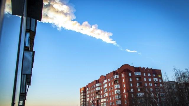 Meteorit in Russland Meteoriteneinschlag über Russland